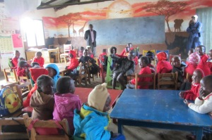 The first 2004 classroom renovated