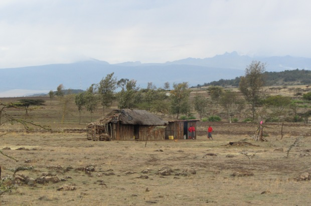 Typical Maasai home